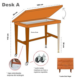 StandUp Desk Design A
