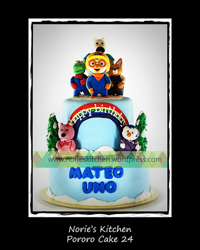 Norie's Kitchen - Pororo Cake 24 by Norie's Kitchen