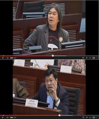 Long Hair debate Lawyer Ma
