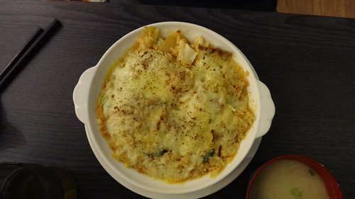 泡菜焗烤飯