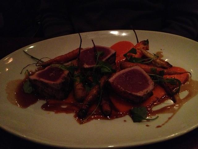 Seared tuna special - Wayfare Tavern