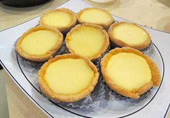 vegan egg tart