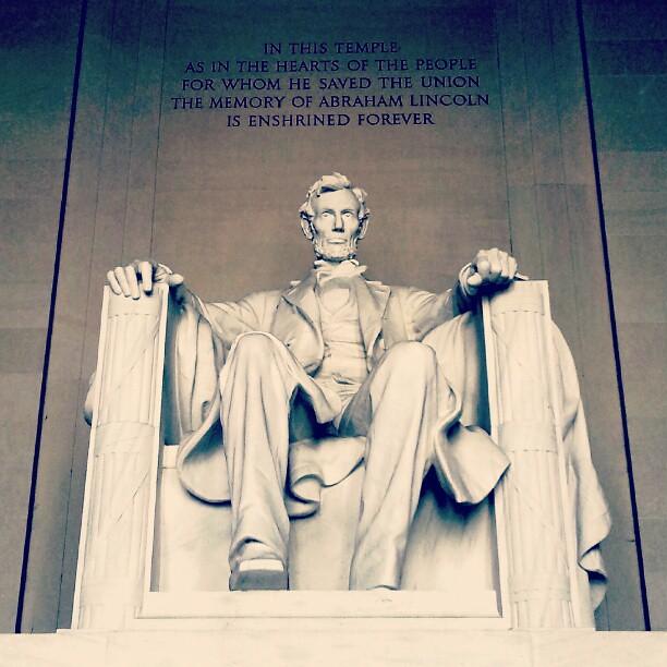 Abe #WashingtonDC