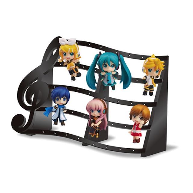 Famima.com Limited Musical Score Pedestal (Black)