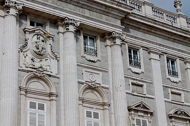 Close up of palacio