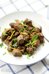 Lamb with herbs and lemon