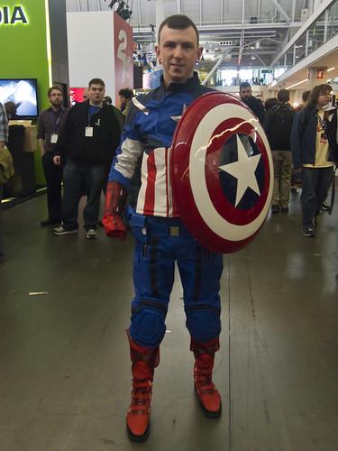 Captain America Cosplayer