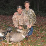 DH and me deer