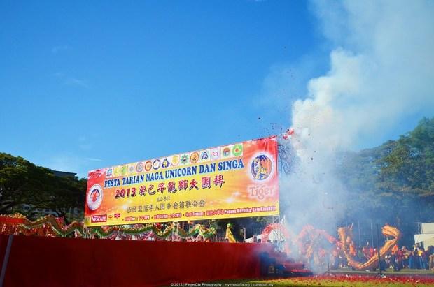Majlis Pelancaran Pesta Tarian Naga, Unicorn Dan Singa 2013