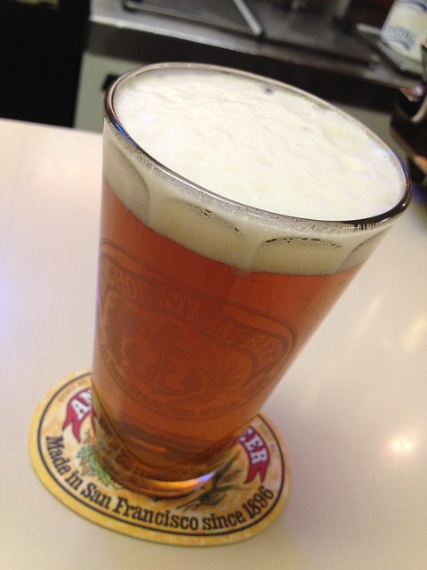Anchor Steam beer - It's Tops Coffee Shop