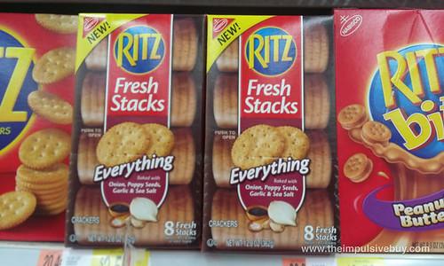 Ritz Fresh Stacks Everything Onion, Poppy Seeds, Garlic & Sea Salt