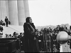 Marian Anderson Sings at Lincoln Memorial: 1939 # 1
