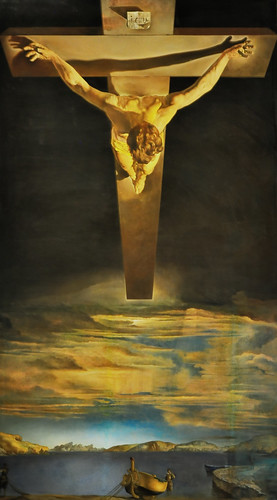 Christ of St John of the Cross by Dali edit 2