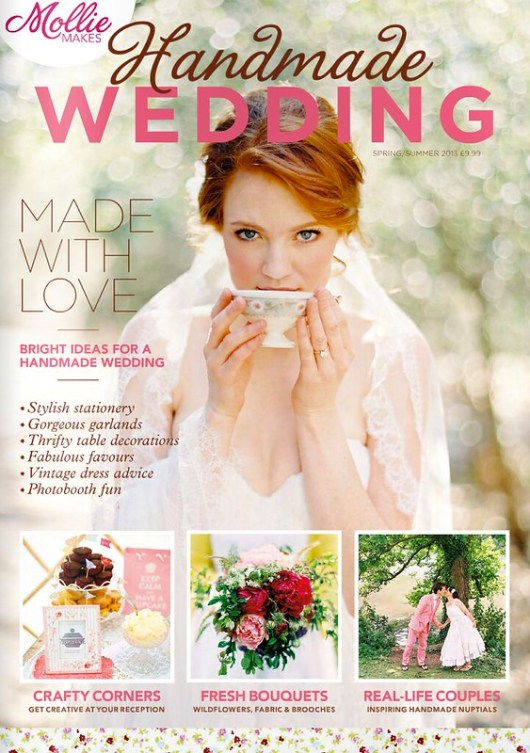 NEW: Mollie Makes Handmade Wedding Magazine