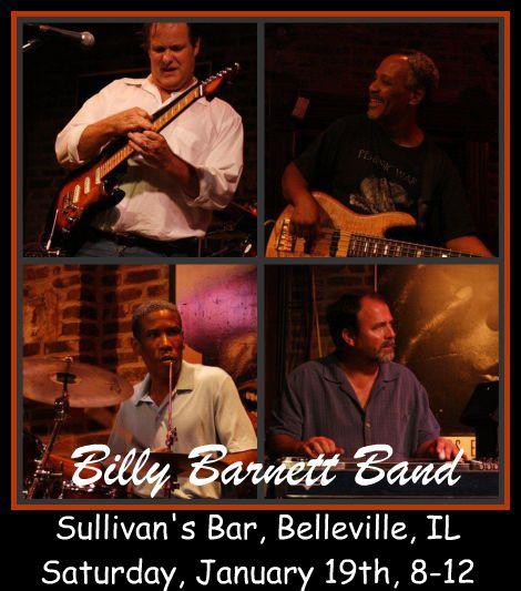 Billy Barnett Band 1-19-13