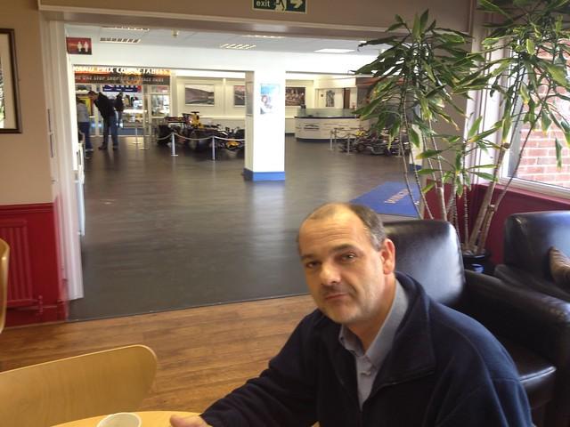 Donington Park cafe