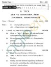 UPTU B.Tech Question Papers -TCA-601- Industrial Fermentation-I