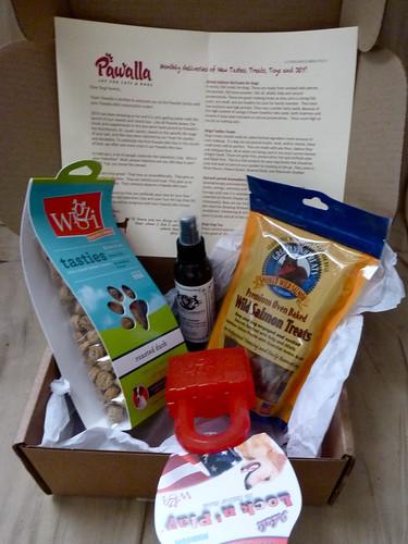 Pawalla Mini box February 2013