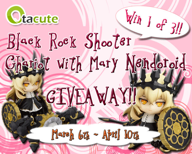 Nendoroid Chariot with Mary Giveaway