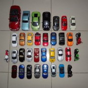 My Die-Cast Cars & Bikes Collection ~ (Top Aerial Overview)