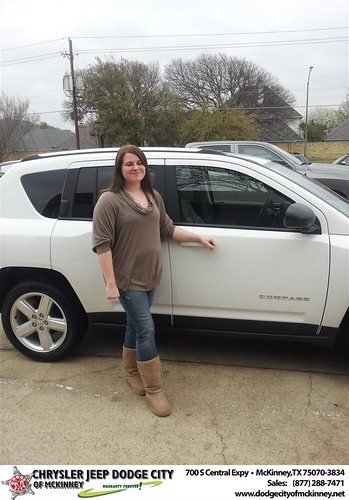 Congratulations to  D&M Auto Leasing on the 2013 Jeep Compass by Dodge City McKinney Texas