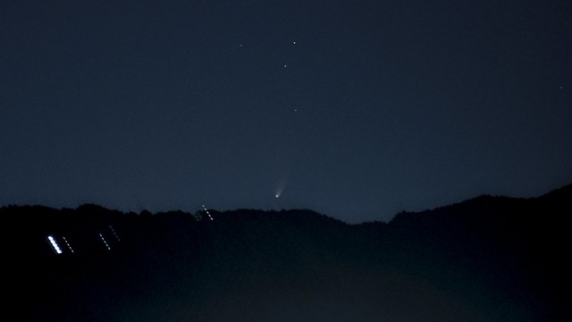Comet Pan-STARRS (C/2011 L4) 2722:2726