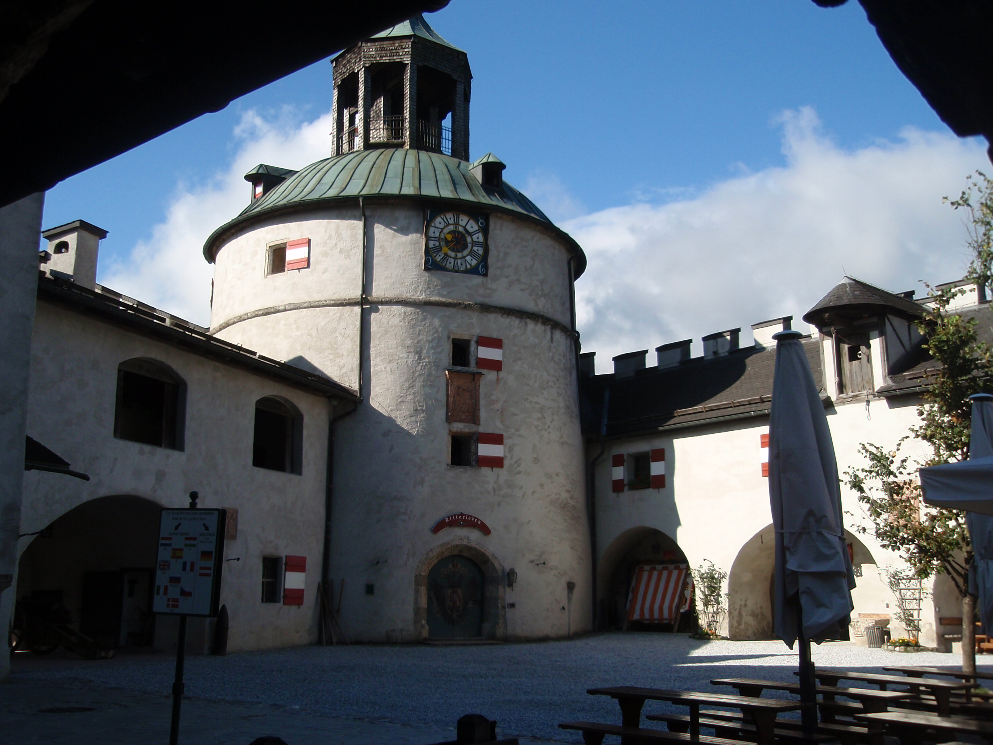 Castle Schloss Dare Where Eagles Hohenwerfen