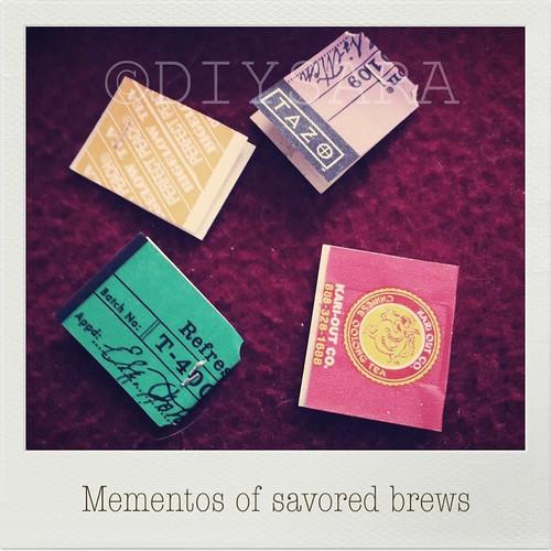 Tea tag tabs!