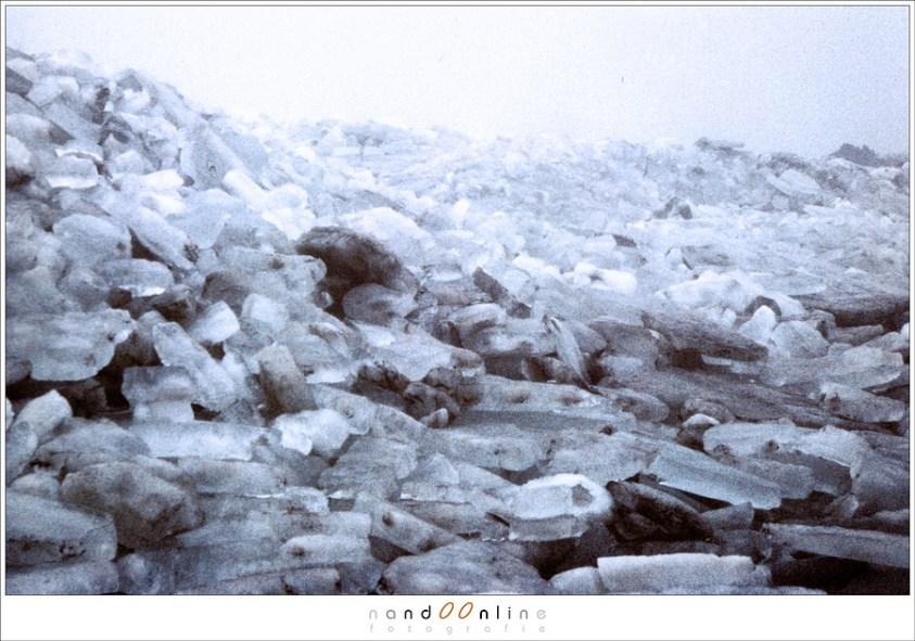 Kruiend ijs in 1987