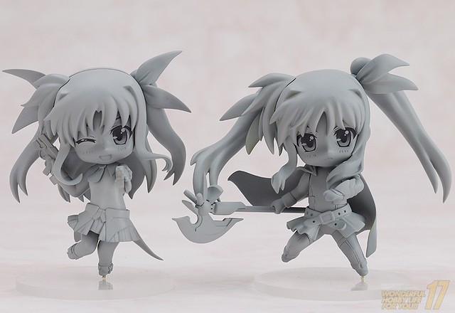 Nendoroid Petite Fate Testarossa: Lightning Form and Alicia Testarossa