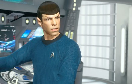 2-27-13 - Spock on Enterprise