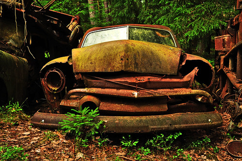 The sad car..