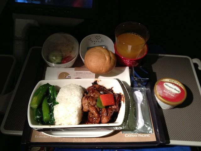 Premium Economy Supper of Wok-fried chicken