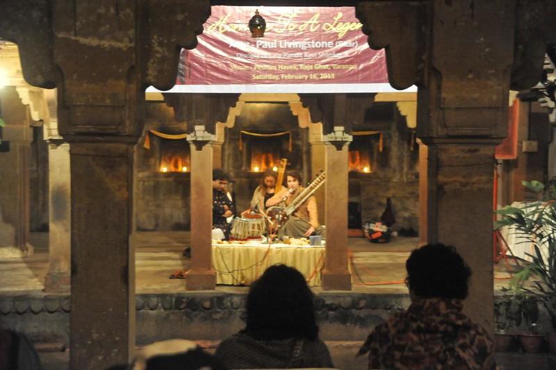 Homage to Pt. Ravi Shankar by his disciple Paul Livingstone
