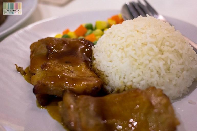 มื้อเล็กๆ - ข้าวหน้าไก่เอเซีย