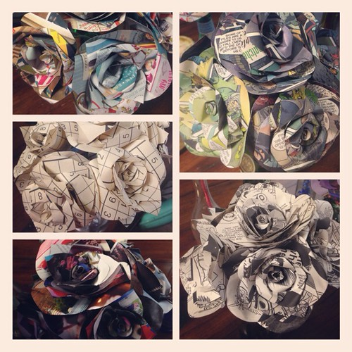 Close Up - Paper Flowers