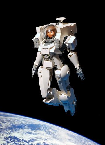 Emilia Starboarder Spacewalk Armor