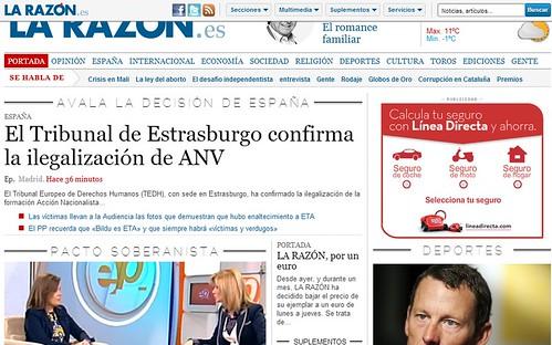 Web La Razón