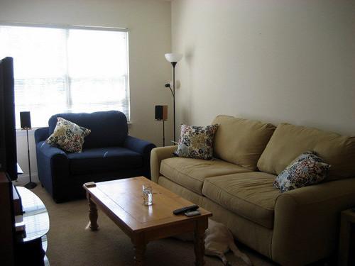 old apt livingroom