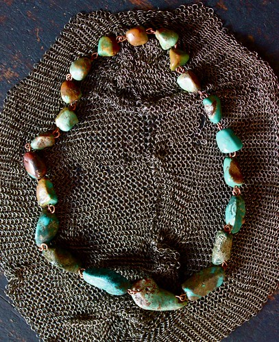 turquoise & copper by denise carbonell