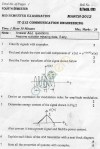 DTU: Question Papers 2012 - 4 Semester - Mid Sem - IT-212