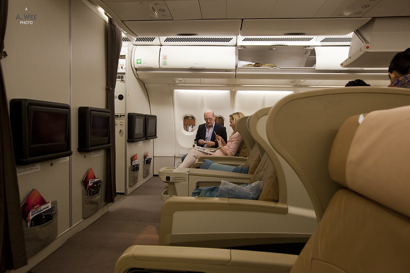 Bulkhead Business Class Seats