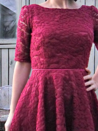 Lace Valentine's Dress