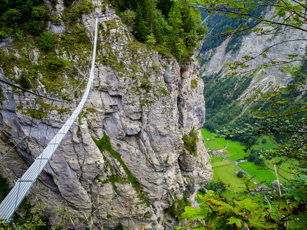 Via Ferrata - Lauterbrunnen, Switzerland