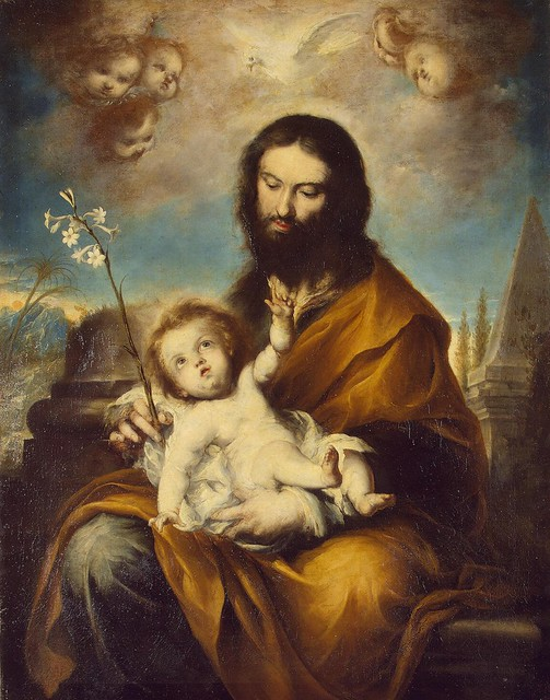 Clemente de Torres, St Joseph with the Infant Christ