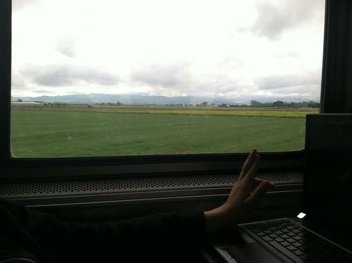Valley from Amtrak