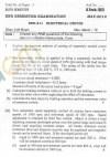DTU Question Papers 2012 - 6 Semester - End Sem - EEE-311