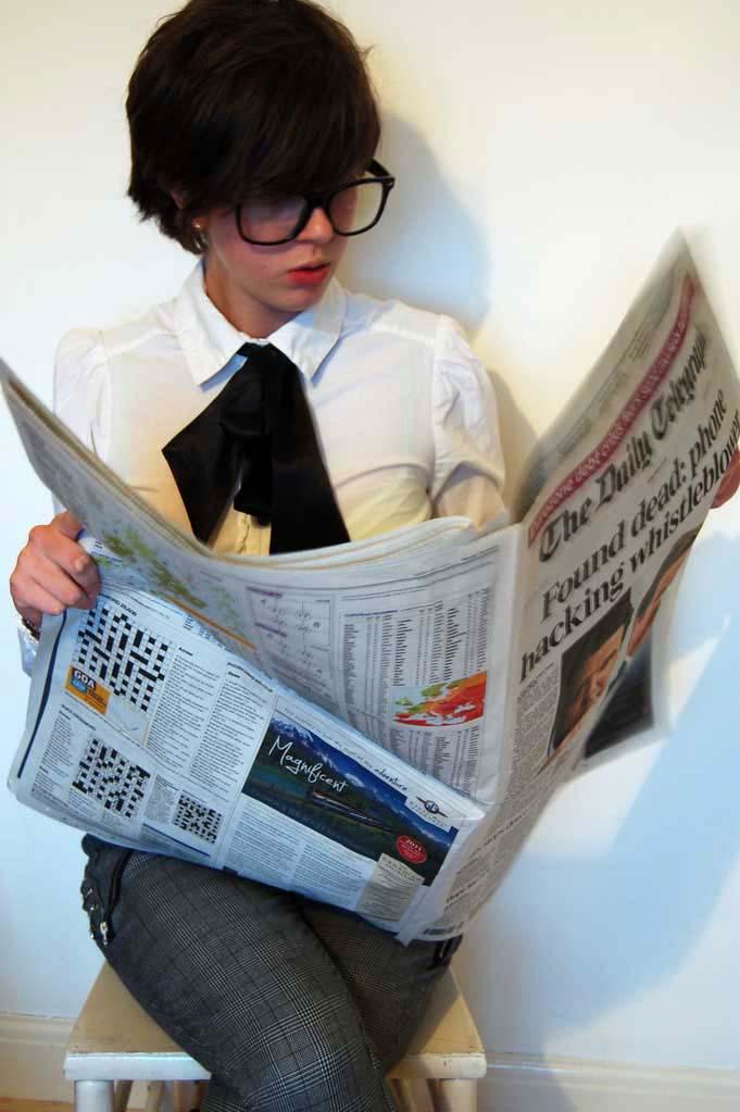 Beckah, The Daily Telegraph, 19. September 2011