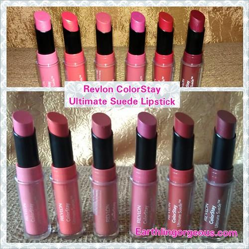 Revlon ColorStay Ultimate Suede Lipstick