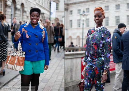 Street Style at London Fashion Week A/W 2013